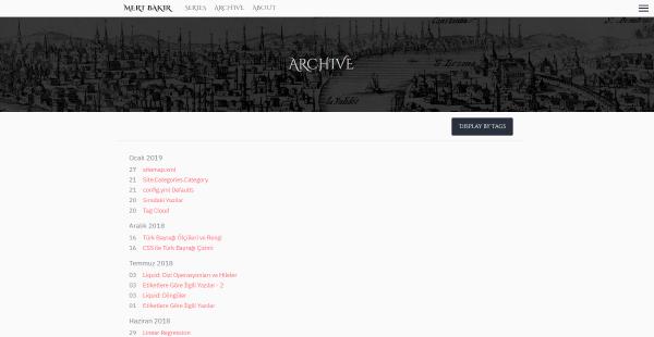 v2 Archive Screen