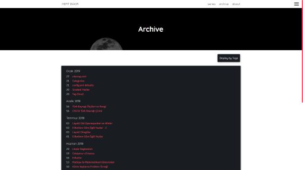 v2.2 Archive Screen